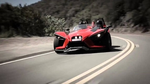Polaris Slingshot for rent