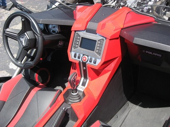 inside Polaris Slingshot